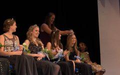 Queen Katie Belina getting crowned