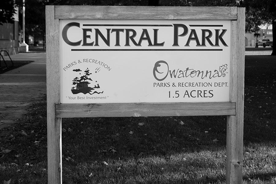 Central park is one of the top locations for Pokémon Go in Owatonna.