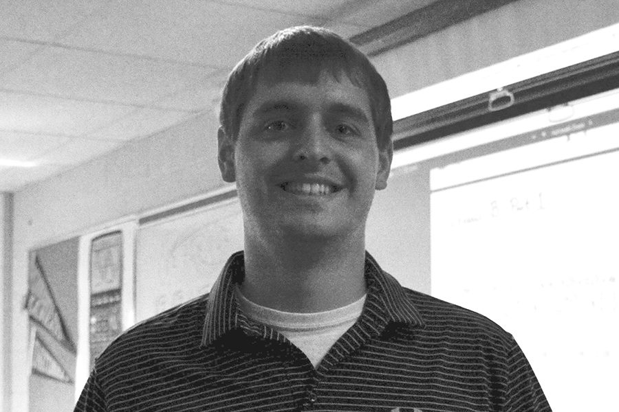 New teacher at OHS James Dahlgren