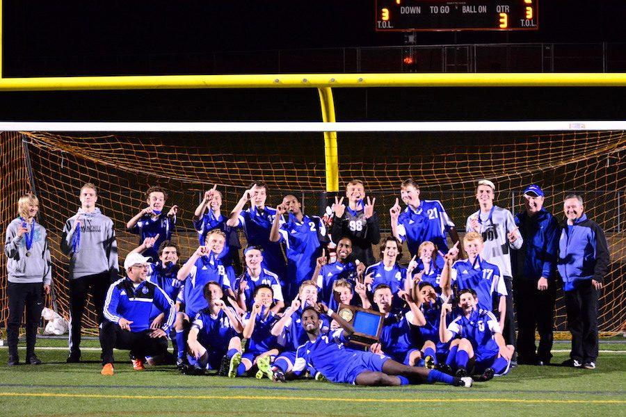 Congrats Boys Soccer on winning the 1AA Section Championship