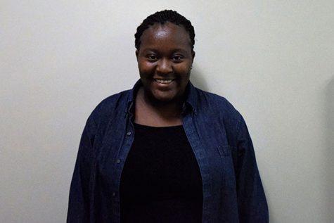 Exchange student Elizabeth Mukurazita from Zimbabwe
