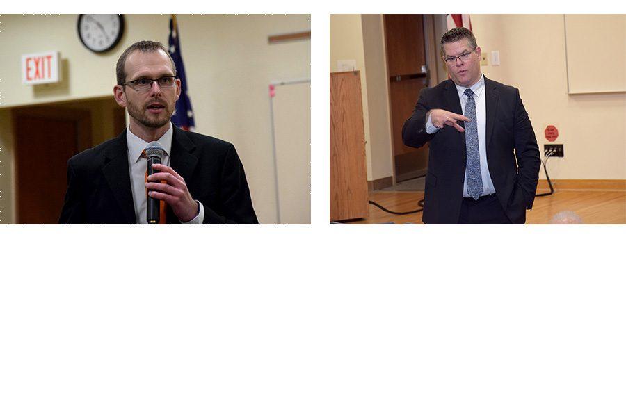 Dr. Olson and Mr. Elstad close ups