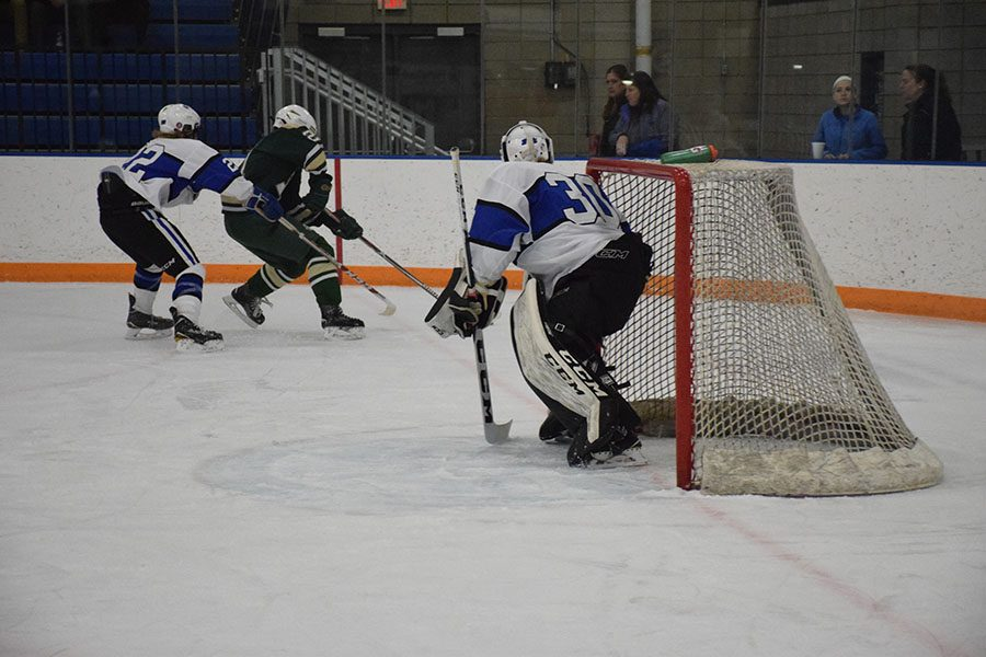 Jacob Dub in the Goal