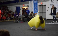 Ivette Torres breakdances for the crowd