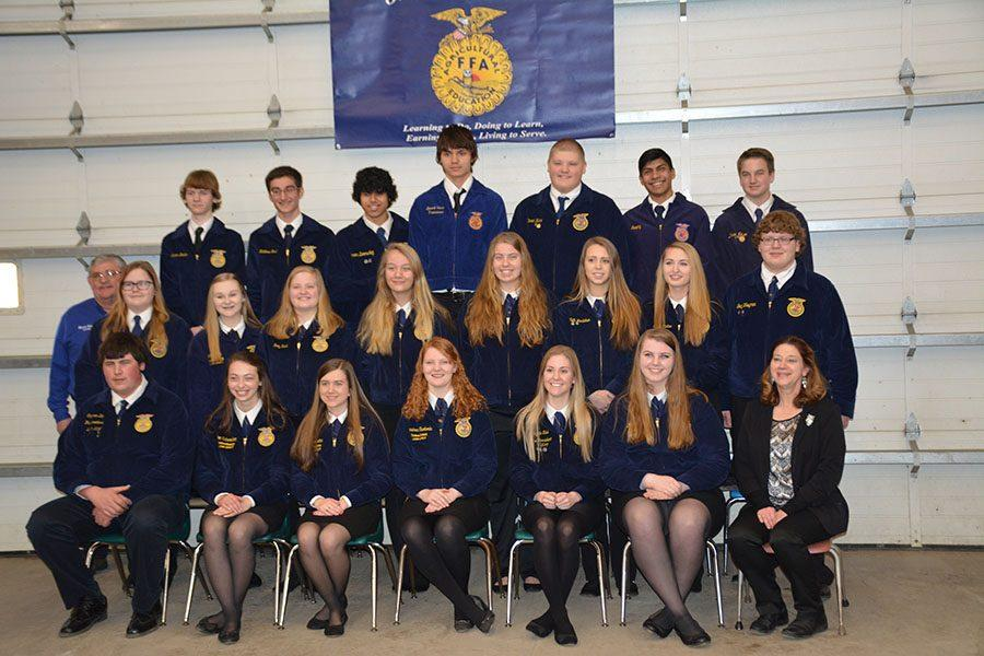 A group photo of the OHS FFA