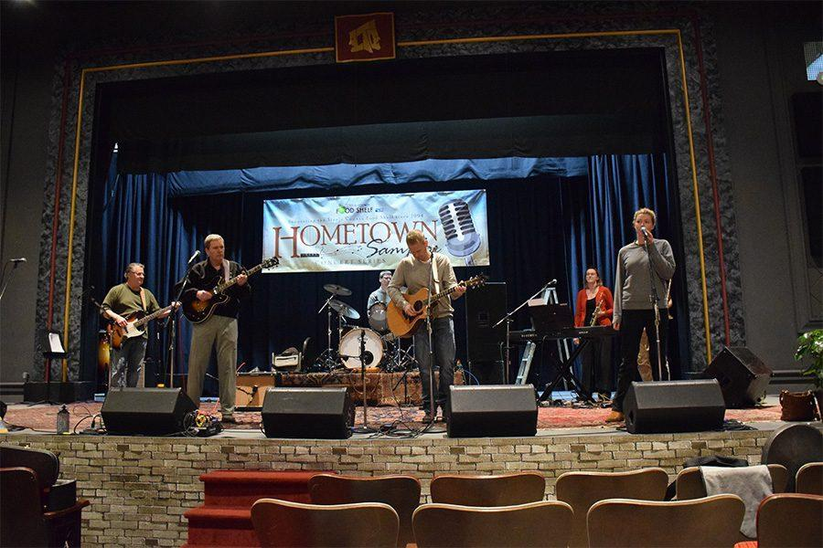 Local Performers rehearse on March 2 for the Hometown Sampler