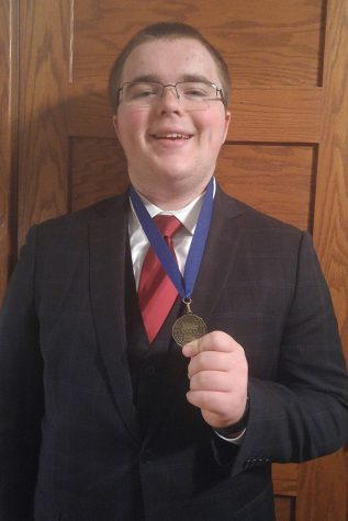 Sheldon Jensen returns to the Minnesota State Speech Meet