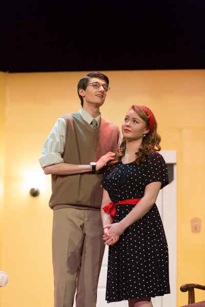 Max and Maggie share a moment.  (Jacob Wright and Greta Jacobson)