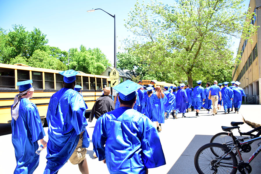 Seniors heading out to elementary schools