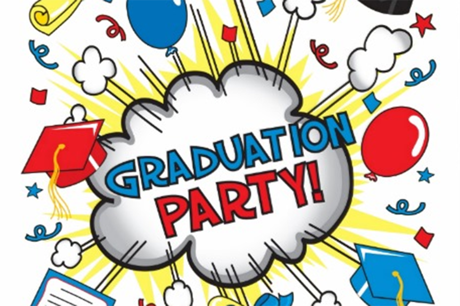 Graduation parties season is coming soon.  Source: Google images