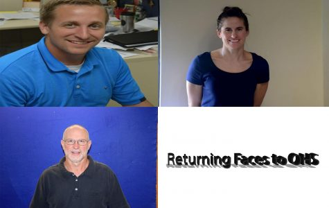A few returning faces to OHS