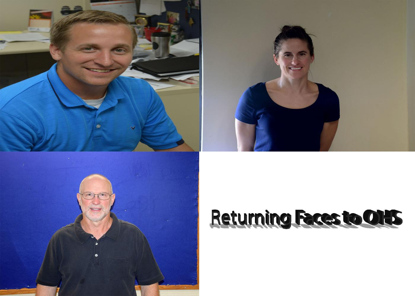 Welcome back to some returning staff members