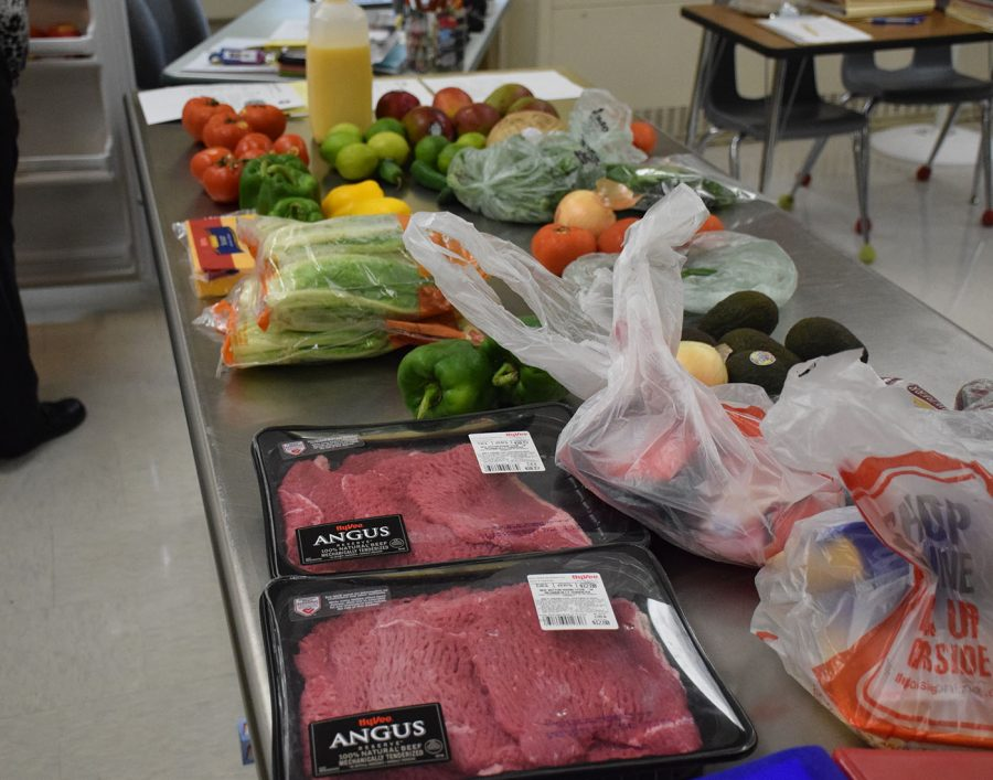 Ingredients for Culinary Club