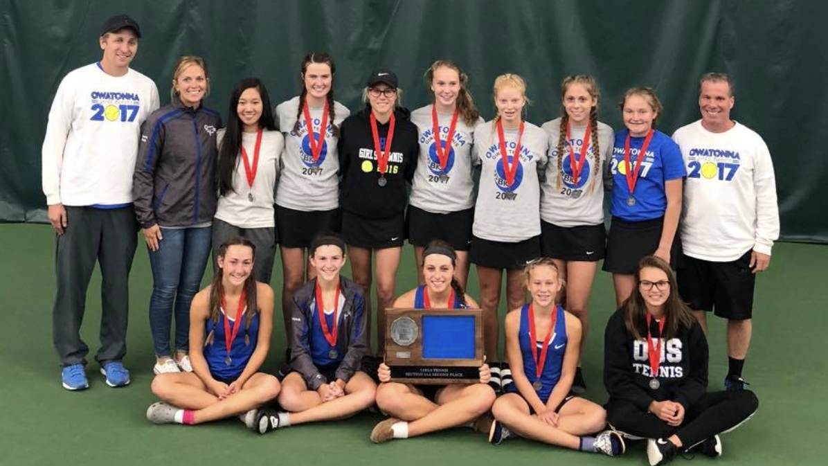 Section runner up OHS Girls Tennis now starts their individual quest for sections