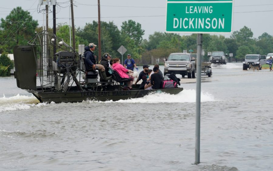 Ninety percent of Dickinson, Texas was affected by Hurricane Harvey  Source: PBS Newhour