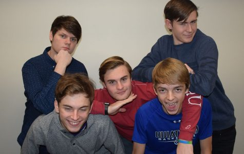 Come watch these guys at the OHS Mangeant in the auditorium tonight at 8 p.m.