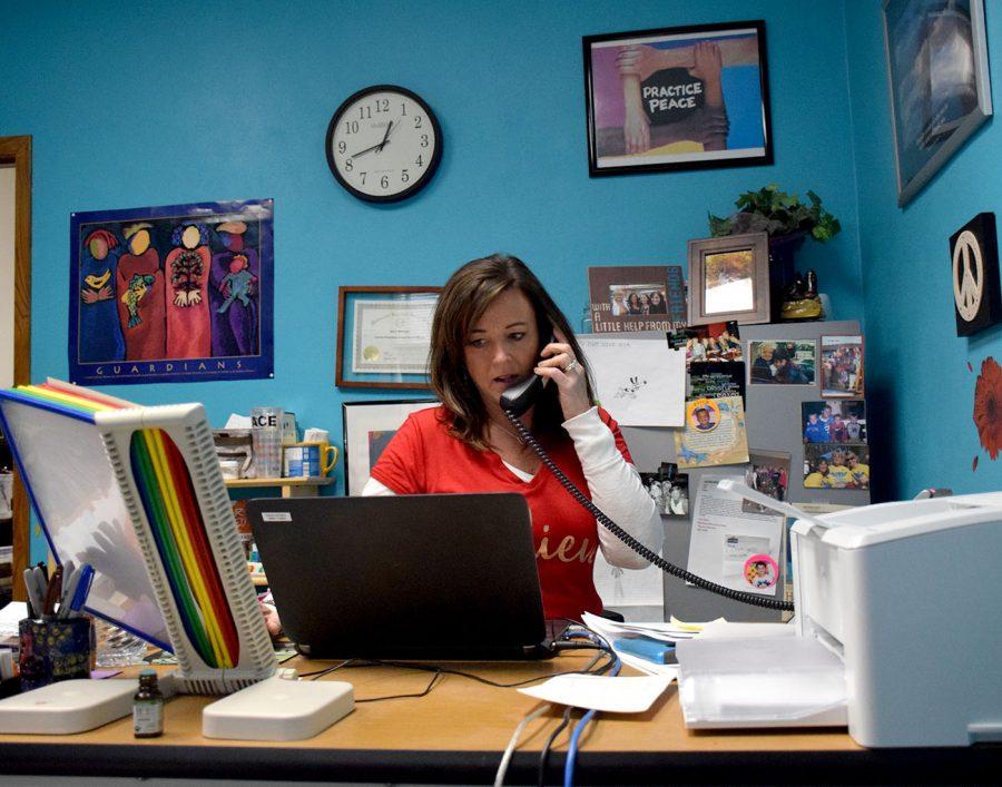 Social worker Nancy Williams saving the world
