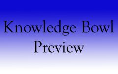Battle of the Brains: The Knowledge Bowl