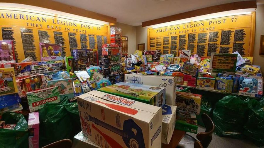 American Legion Post 77 will be donating over $5,000 worth of toys to Toys for Tots