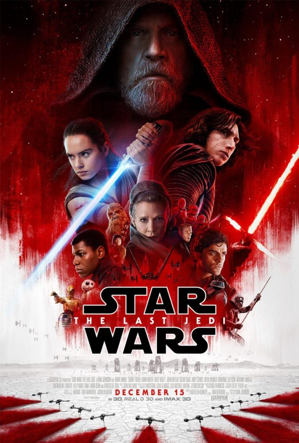 Source: Star Wars.com The Last Jedi was the number one movie of the week