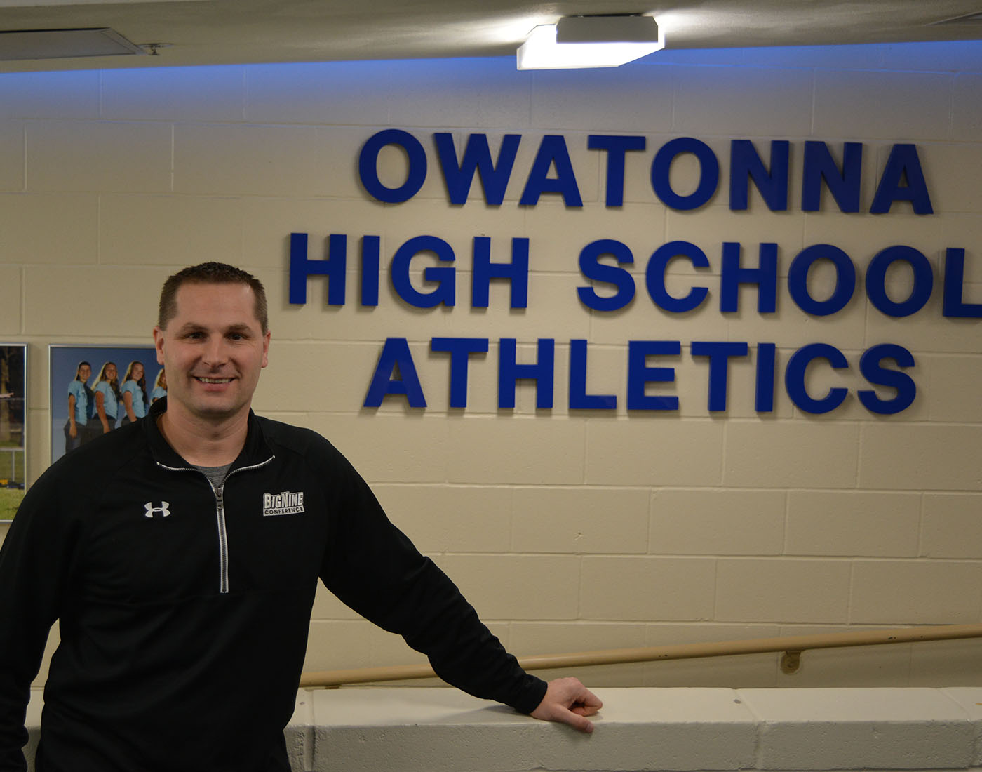 Athletic Director Ryan Swanson will be leaving his position in June