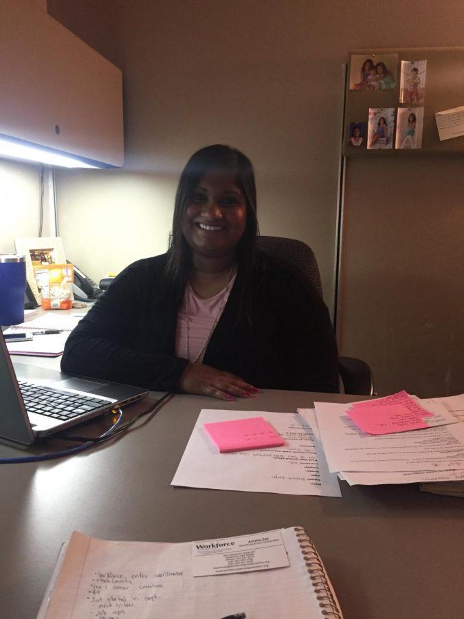 Mrs. Anisha Zak, coordinator of internships and career research.