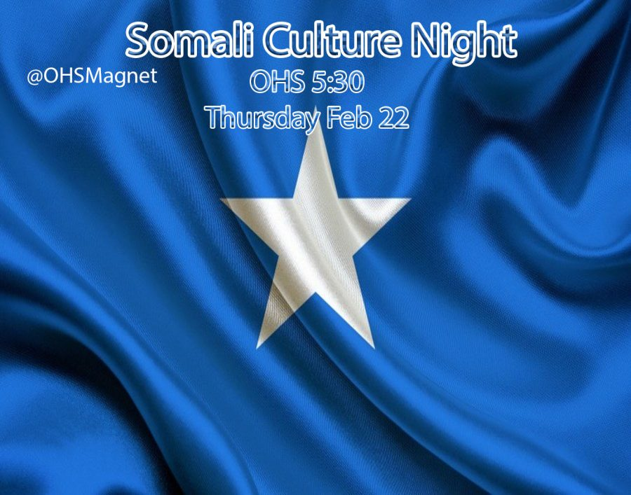 Somali Culture Night Graphic