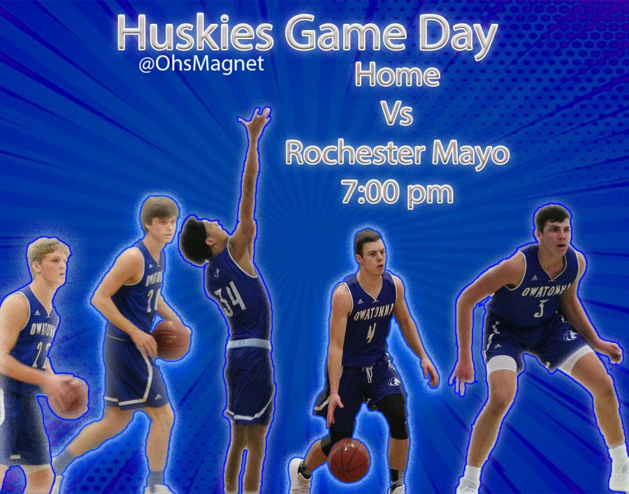 OHS Boys Basketball takes on Rochester Mayo