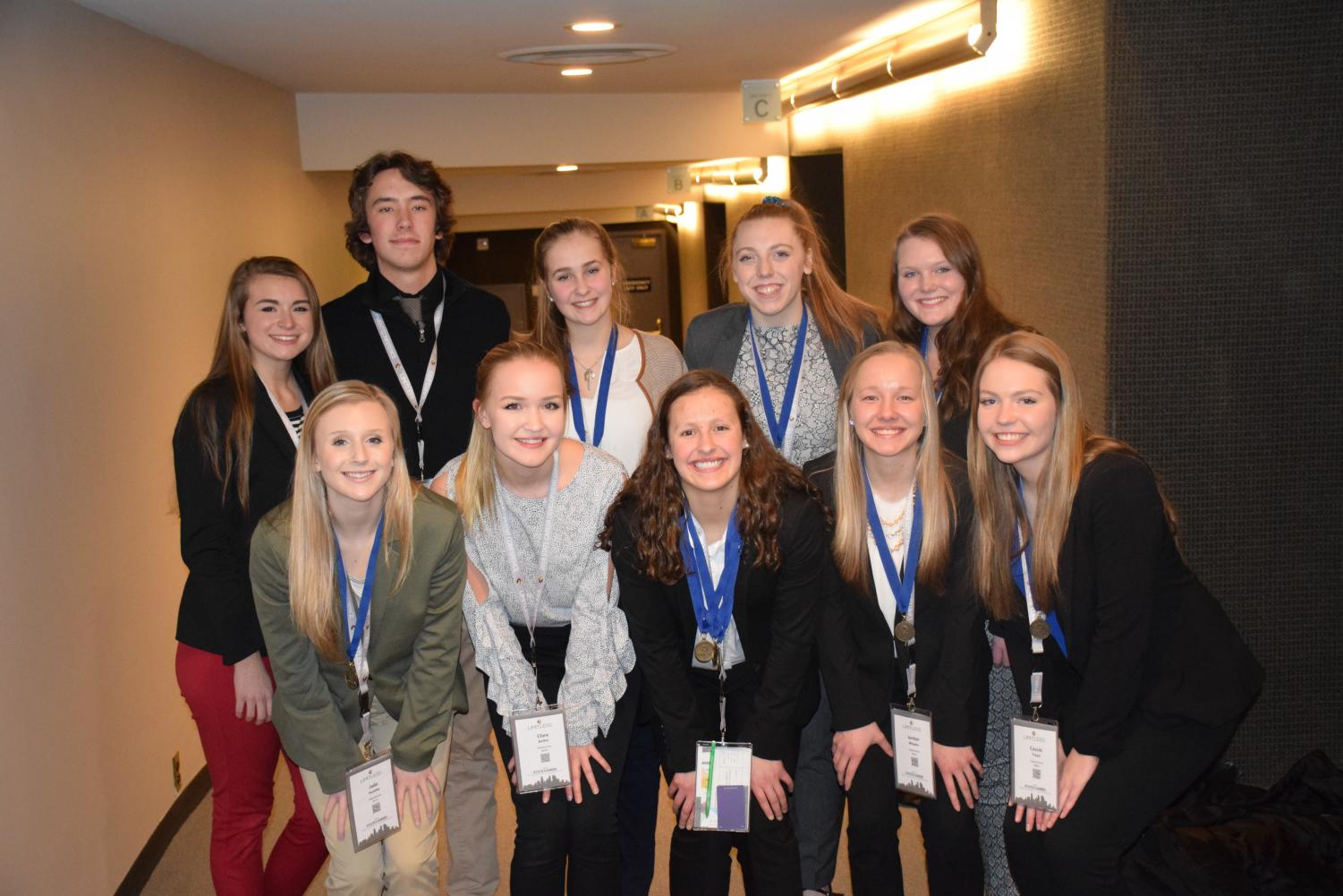 OHS DECA State Finalists