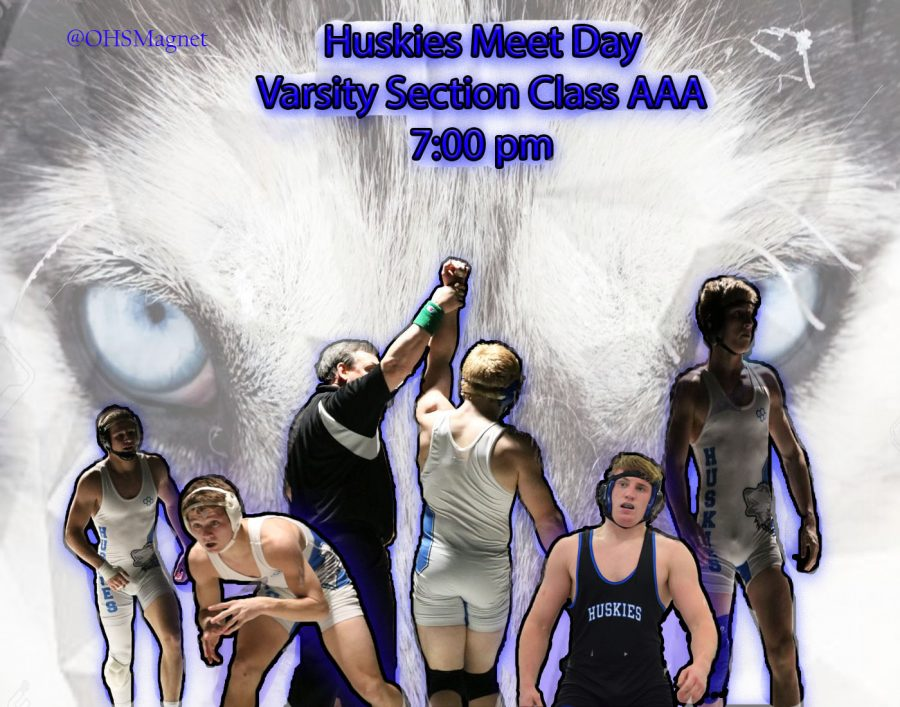 OHS Wrestling Hosts Sections