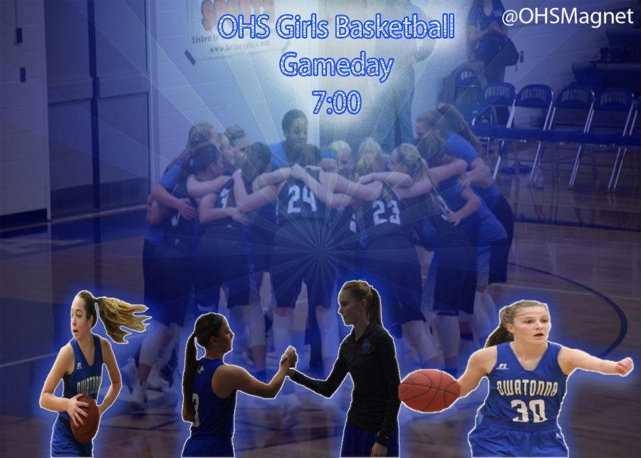 Girls Basketball home game.