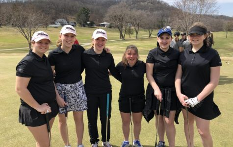 Teeing off the season: Girls Golf