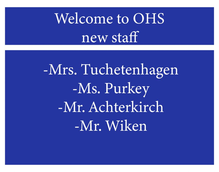 OHS+welcomes+new+staff