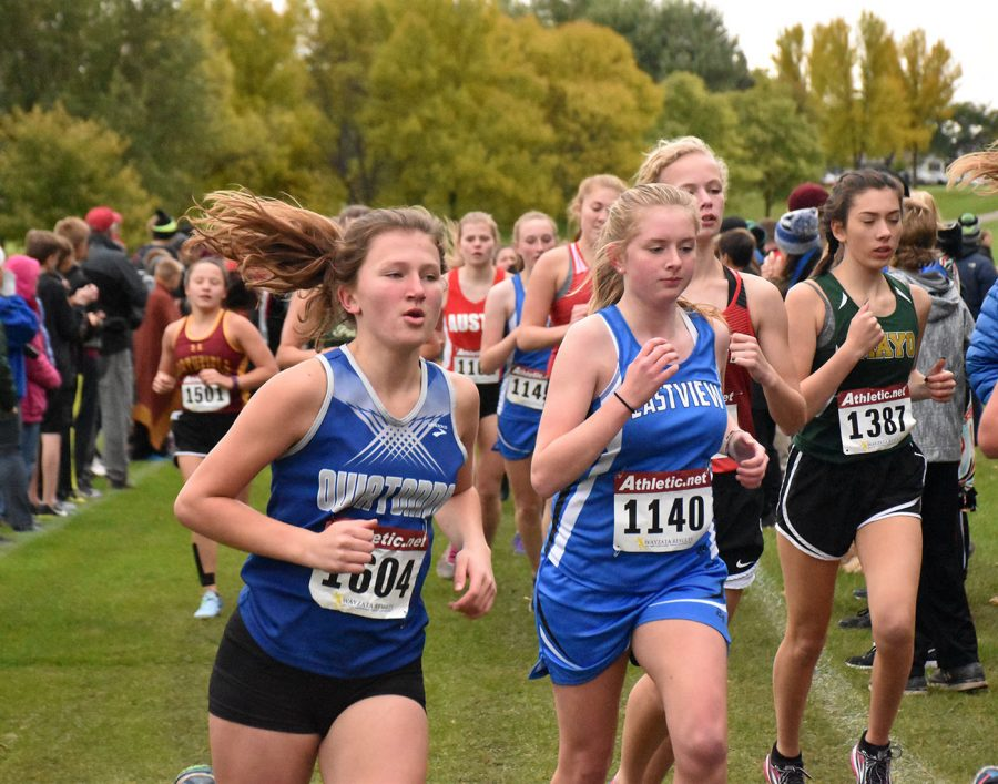 Owatonna Cross Country races to the finish line