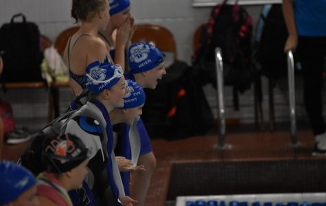 Swimmer breaks barriers