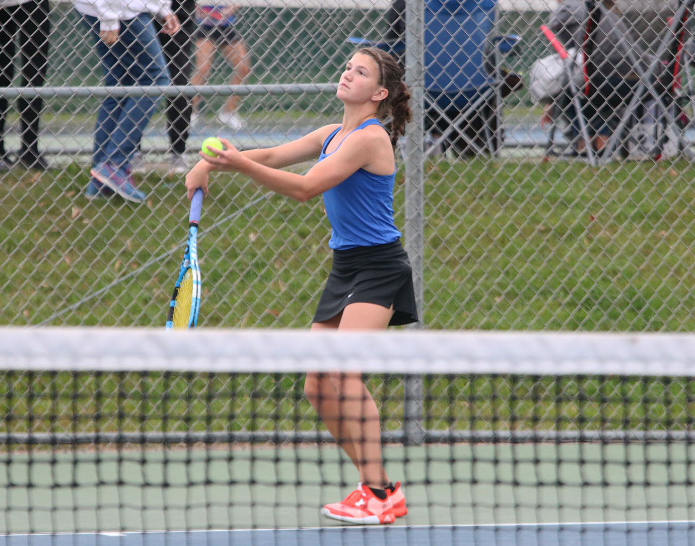 Emily Rahrick heads to the Minnesota State Individual Tennis Tournament on Thursday