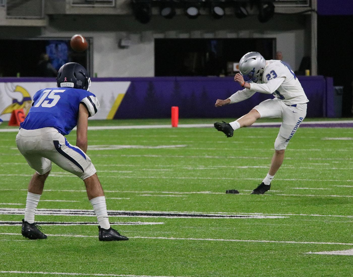 Sam+Hansen+kicking+the+ball