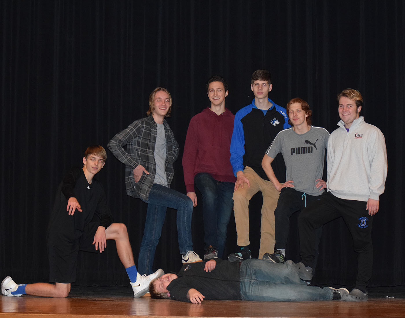 Contestants of the 2018 OHS Maneant