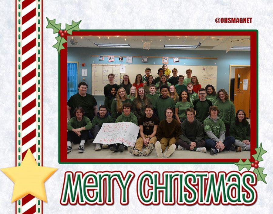 Magnet Family Christmas Card
