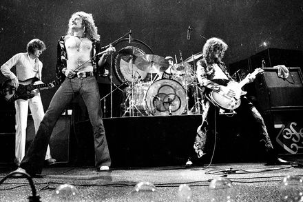 Led Zeppelin performing Source: Rolling Stone Magazine