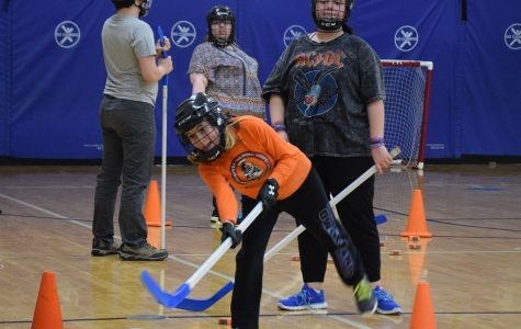 Adapted floor hockey takes the home court