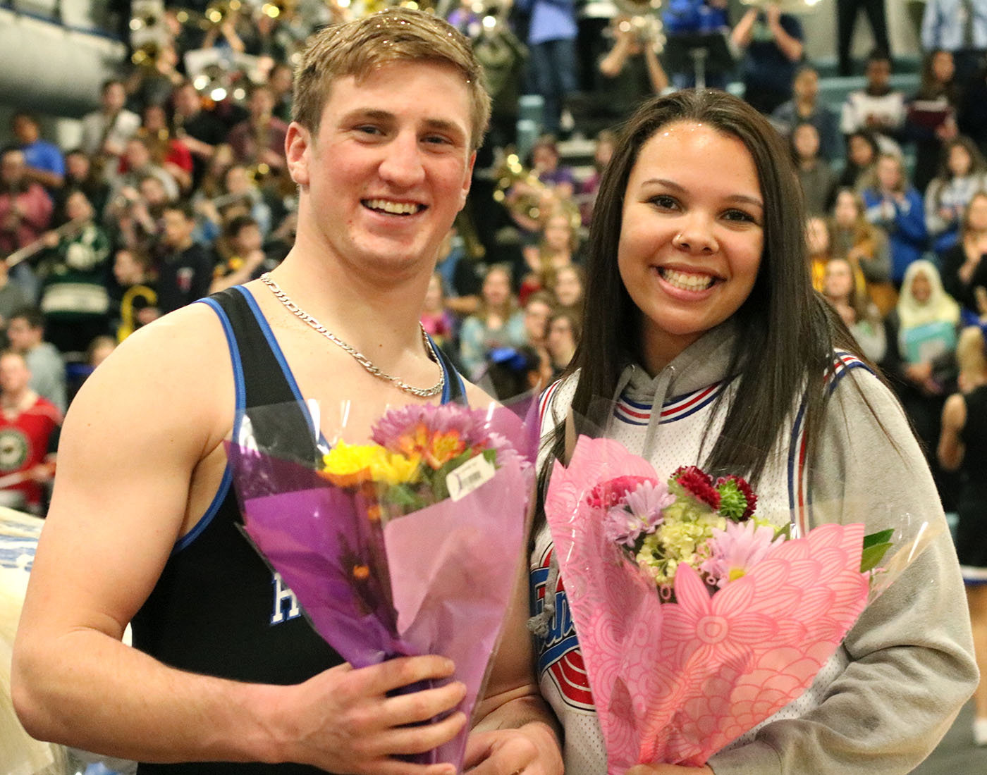 Congratulations Snow King Cade King and Snow Queen Jasmyn Harris