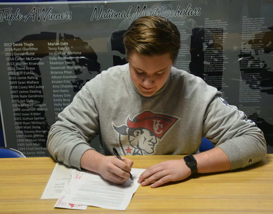 Nick Anderson signed with the University of the Cumberlands NAIA to play lacrosse