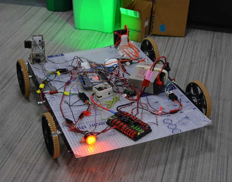 The first drivable robot
