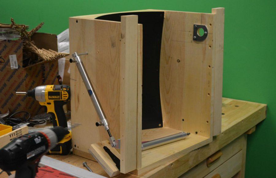 Wood prototype intake