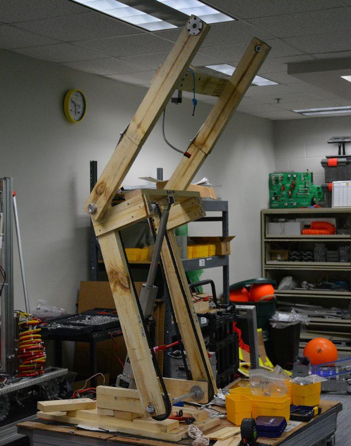 Wood prototype arm