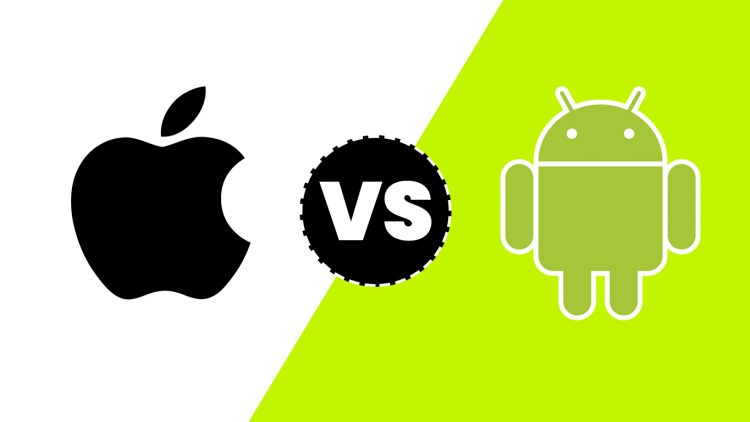 Apple+and+Android+concept+art.+Source%3A+https%3A%2F%2F3sidedcube.com%2Fandroid-vs-ios-app-programming%2F