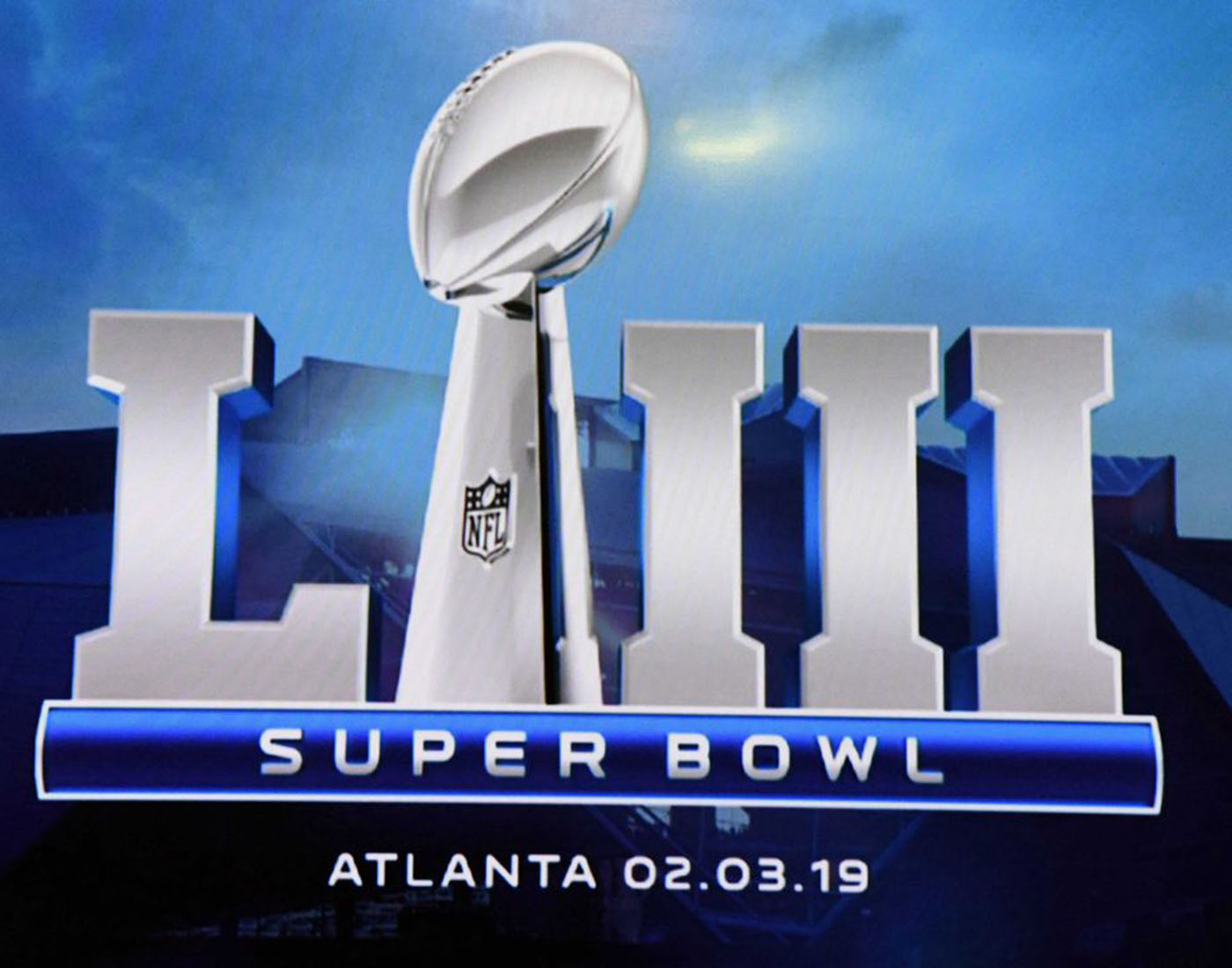 Official Logo of the Super Bowl