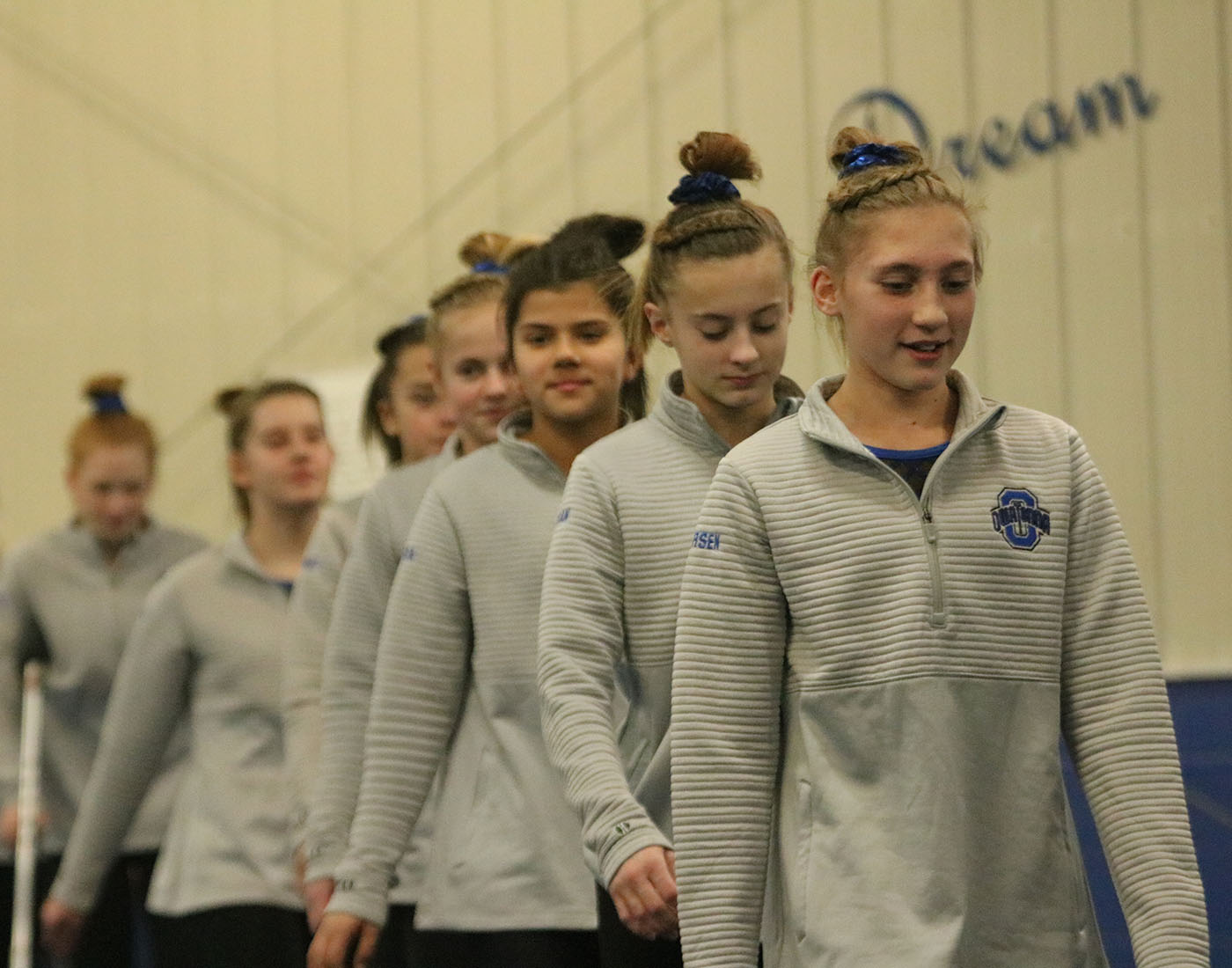 OHS Gymnastics is headed to state- again
