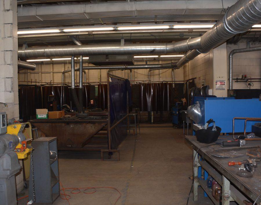 Industrial tech room